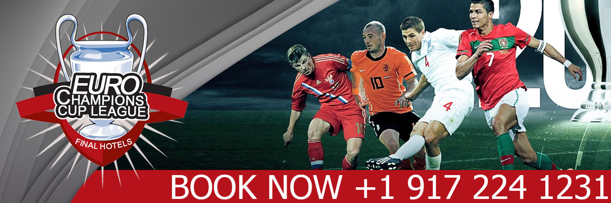 Book Euro Cup, Champions League Final, Super Bowl, Fifa World Cup, Summer & Winter Games Luxury Hotels & event packages