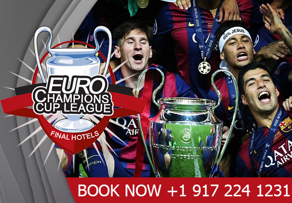 Book UEFA Champions League Luxury Hotels & event packages